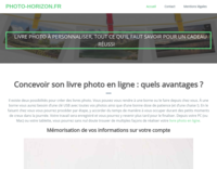Screenshot photo-horizon.fr